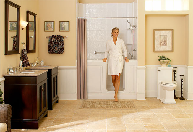 safe and accessible solutions - American Standard Walk In Bathtub